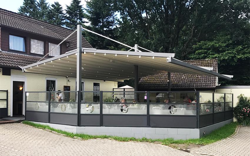 Pergole Double Shelter